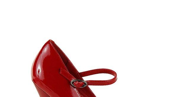 89ec3cbb42fd Dámske červené lodičky na ultra vysokom podpätku Steve Madden ...