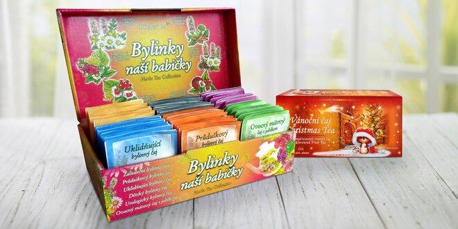 Darčekové kolekcie s porciovanými čajmi