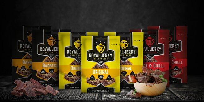 Royal Jerky: sušené mäso z prémiového hovädzieho