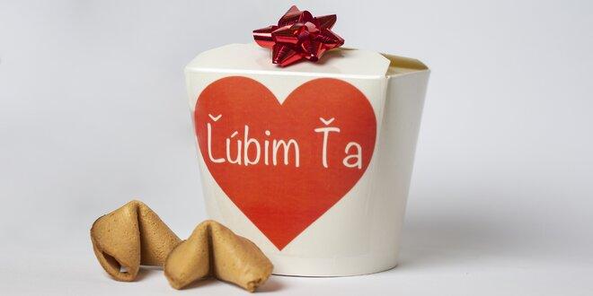 Darčekové balenie koláčikov šťastia s citátmi