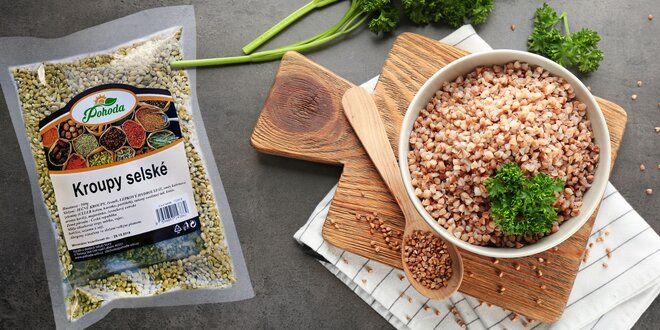 Rýchly obed: ochutená quinoa, krúpy a pohánka