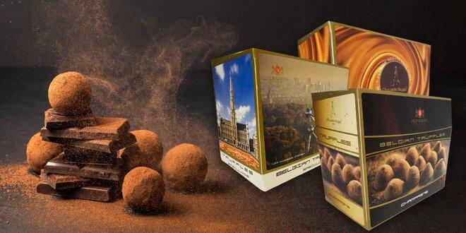 Od belgických majstrov: čokoládové truffles