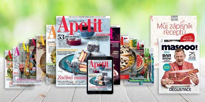 Ročné predplatné časopisu Apetit s bonusmi