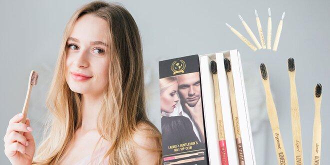 Bambusové zubné a medzizubné kefky pre každého