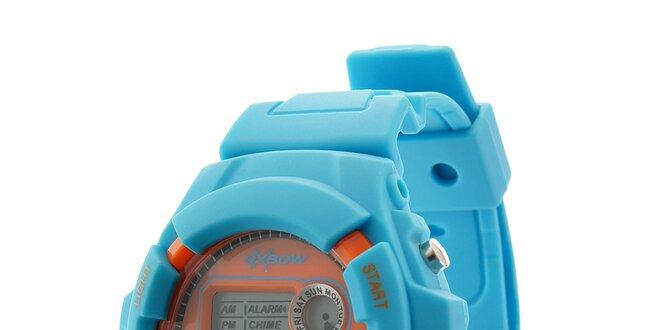 d07e45f90 Svetlo modré digitálne hodinky Oxbow | Zlavomat.sk