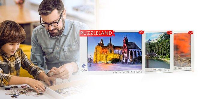 Puzzle so slovenskými motívmi. Až 1000 dielikov!