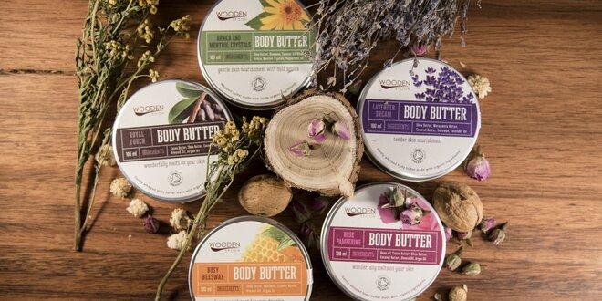 Rozmaznaná pokožka: organické telové maslá a dezodorant