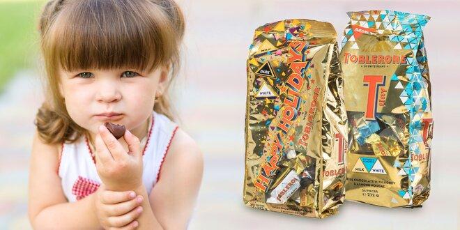 Čokolády Toblerone – mliečne, mandľové aj horké cukríky
