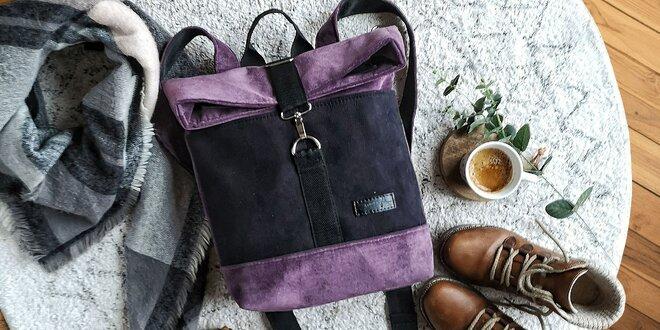 Ručne šité kabelky či batohy slovenskej výroby
