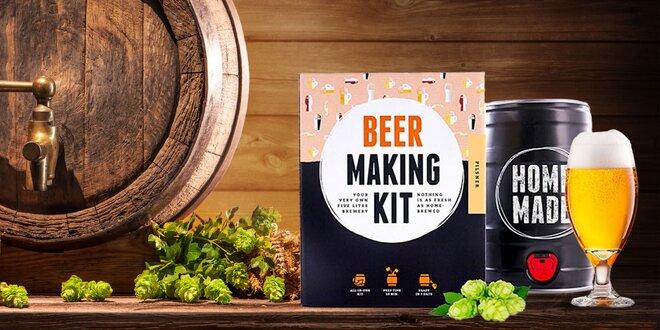 Balíček na prípravu vlastného piva alebo cideru!