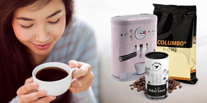 3 druhy lahodných káv 100 % Arabica