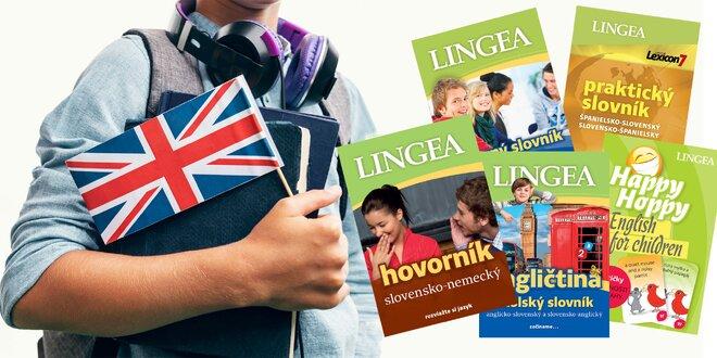 Jazykové balíčky LINGEA: AJ, NJ, RJ, FR aj ŠJ