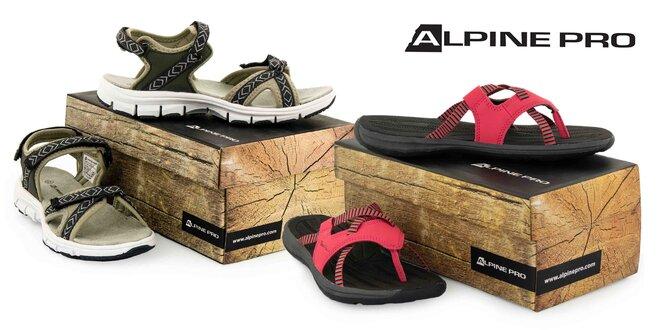 Dámska obuv Alpine Pro: tenisky, žabky či sandále