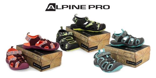 Letná detská obuv Alpine Pro: tenisky alebo sandále