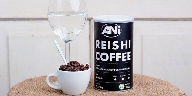 Lahodná káva s hubou Reishi