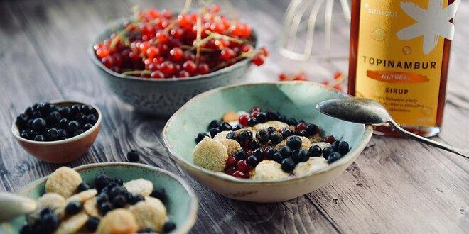 Zdravé a chutné sirupy z topinambura od Sunroot