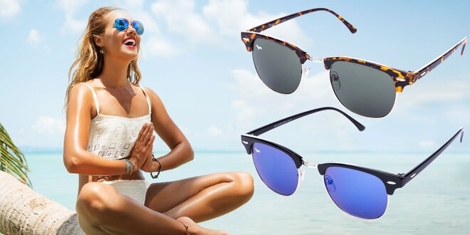 Slnečné okuliare Kašmir: 17 unisex druhov
