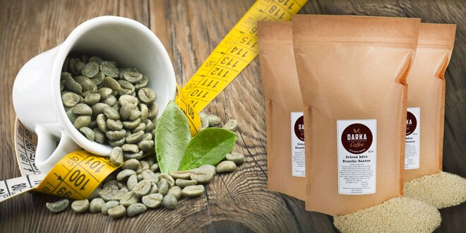 Zelená káva Brazília Santos 100 % ARABICA