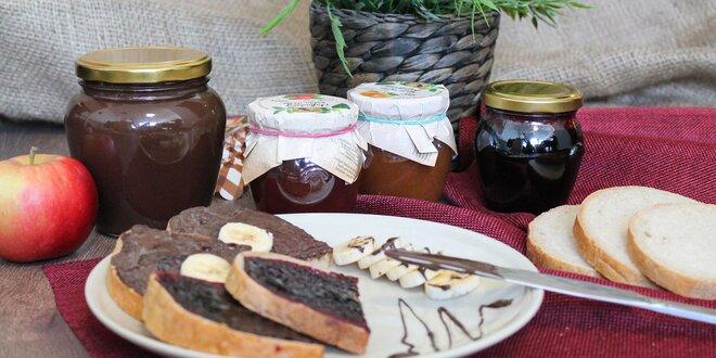 Lahodné džemy so stéviou a choco nátierka s medom