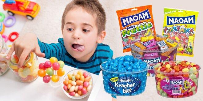 Až 1200 g cukríkov MAOAM v rôznych príchutiach