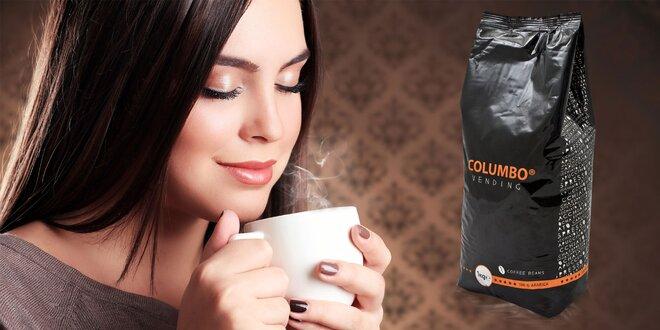 1 kg kvalitných kávových zŕn na doma či do automatu
