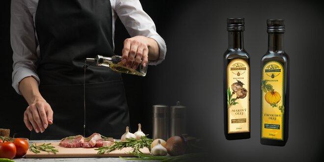 Vyberte si svoj zdravý olej