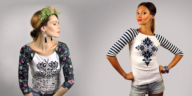 Nápadité dámske tričká slovenskej značky LucLac