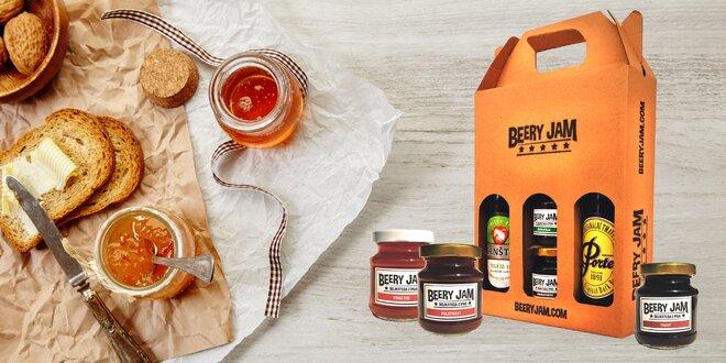 Netradičné pivné džemy aj v balení s výberovým pivom