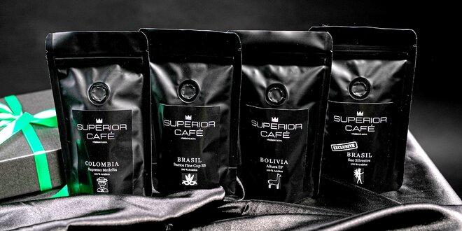 Degustačné balíčky káv z Brazílie, Kuby či Kene