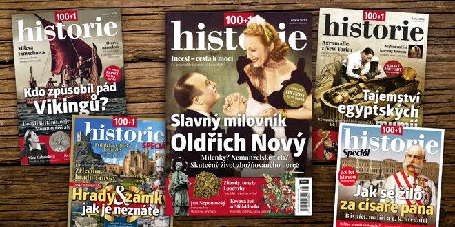 Časopis 100+1 Historie, kompletný ročník 2020