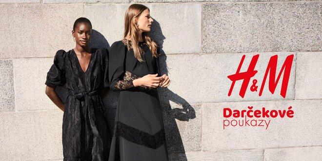 Darčekové poukazy do všetkých predajní i e-shopu H&M