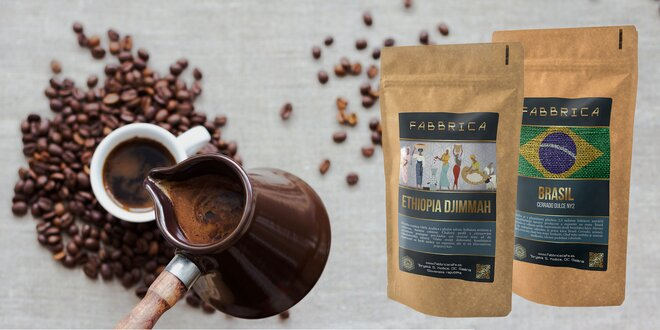 Balíčky lahodných káv aj s Espresso šálkou