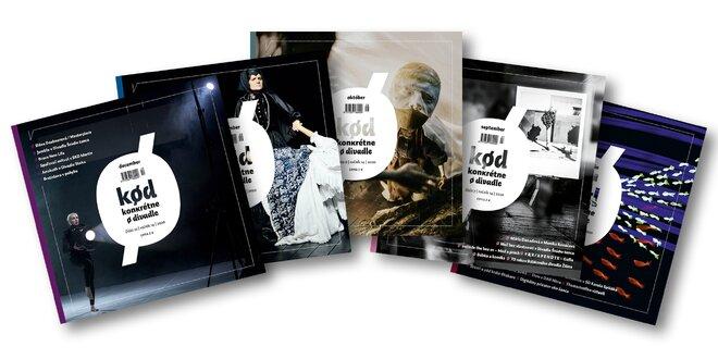 2 typy predplatného časopisu Kød - konkrétne o divadle