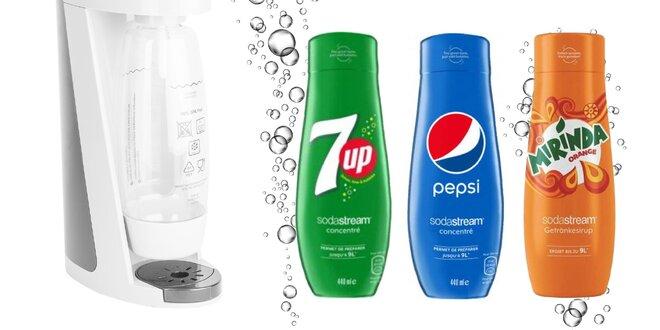 Sirupy SodaStream na prípravu 9 l nápoja
