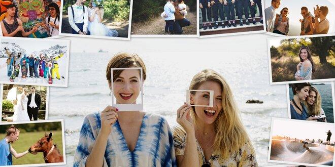 Originálny fotoobraz v štýle koláže s vlastnou fotografiou