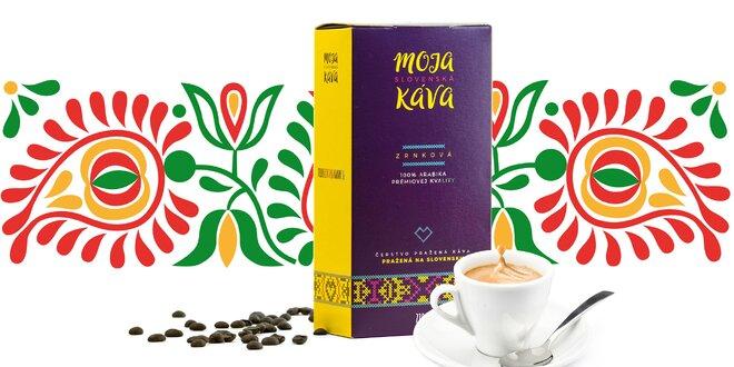 Prémiové zrnkové kávy zo slovenskej pražiarne
