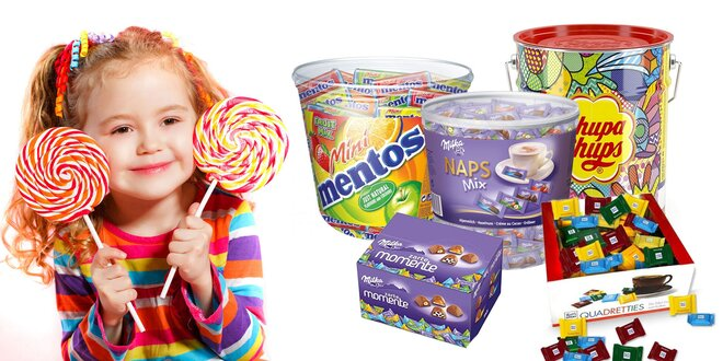 Pre maškrtníkov: boxy cukroviniek Milka, Ritter Sport a iné