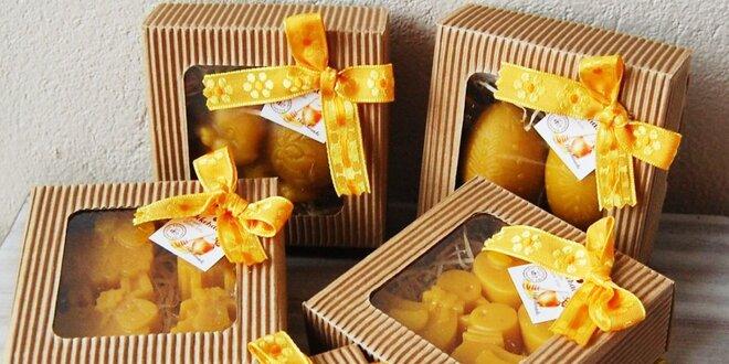 Veľkonočné ozdoby a výslužky zo včelích produktov