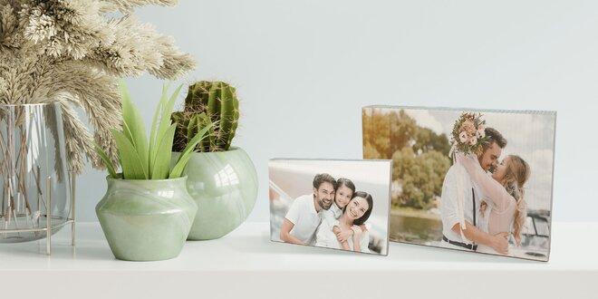 Tip na darček: Fotografia vytlačená na drevenú dosku