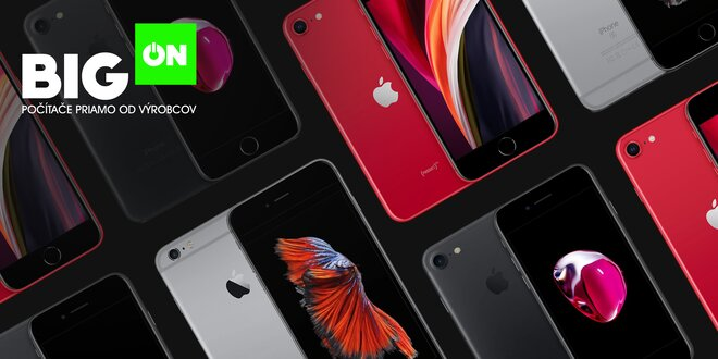 Kvalitné obnovené iPhony 6s, 7 alebo SE za skvelé ceny!
