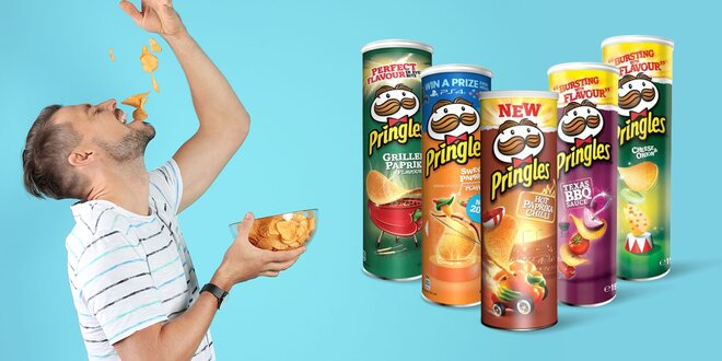 Balenia obľúbených čipsov Pringles až v 16 príchutiach