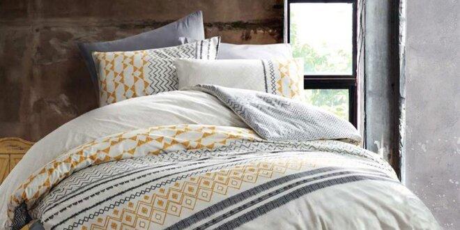 Súpravy bavlnených a saténových posteľných obliečok