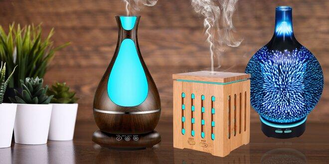 Elektrická Aroma Lampa (Aroma Difúzer) + Darček Éterický olej
