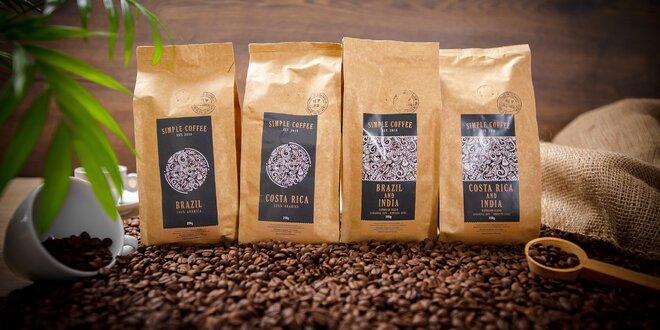 Lahodné sety svetových káv zo slovenskej pražiarne