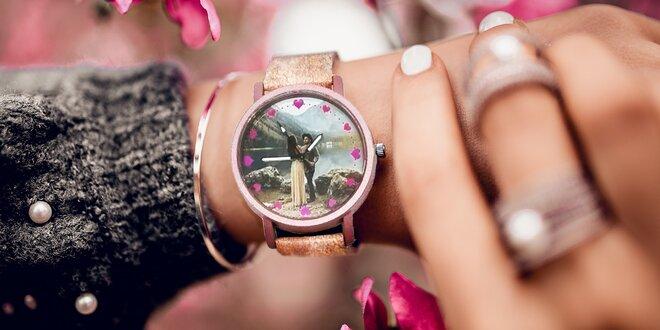 Náramkové hodinky s vlastnou fotografiou