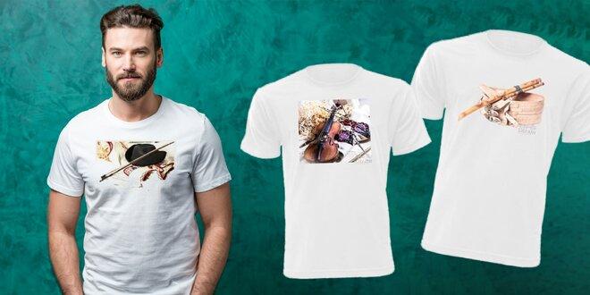 Pánske tričká s krásnou potlačou v digitálnej kvalite