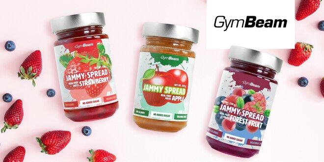 Fitness džemy GymBeam – bez cukru a s kúskami ovocia