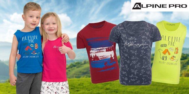 Detské oblečenie Alpine Pro: šaty, tričká i nohavice