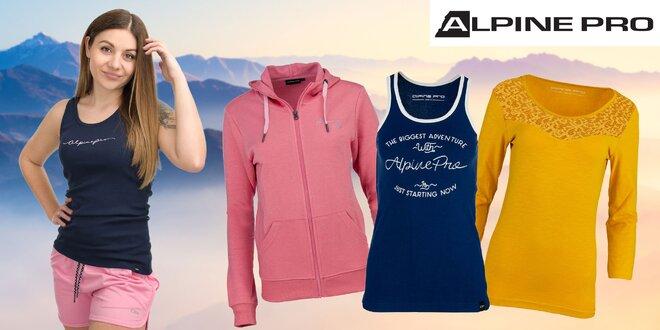 Dámske sukne, šortky i mikiny s kapucňou od Alpine Pro
