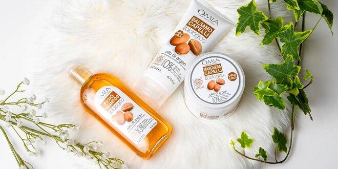 Sady vlasovej BIO kozmetiky: šampón, kondicionér, maska